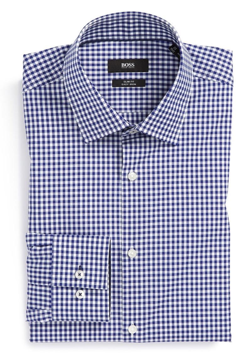 Hugo boss boss hugo boss 39 joey 39 ww slim fit easy iron for Hugo boss slim fit dress shirt