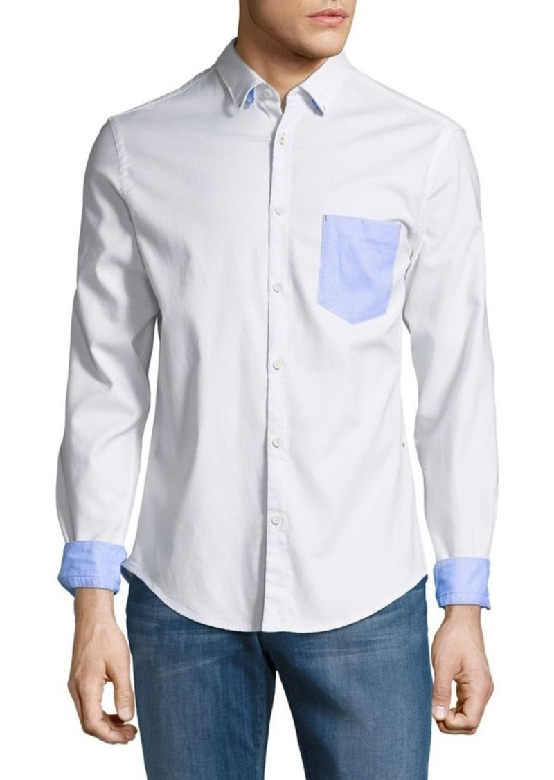 92a4ce640 Hugo Boss Boss Hugo Boss Long-Sleeve Button-Down Shirt | Casual Shirts