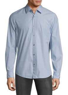 Hugo Boss Lukas Embroidered Dress Shirt