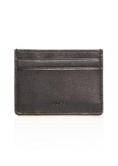BOSS Hugo Boss Majestic Leather Money Clip Card Case