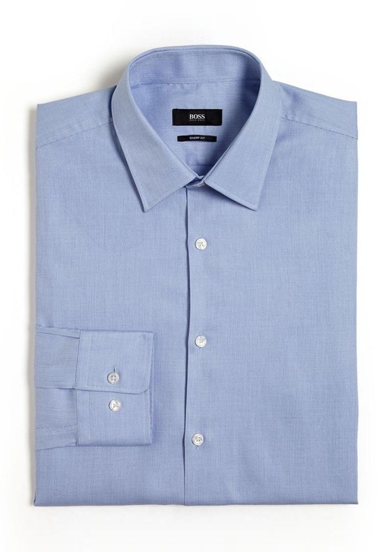 Hugo boss hugo boss marlow solid non solid dress shirt for Hugo boss dress shirts