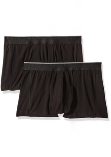 BOSS HUGO BOSS Men's 2-Pack Excite Cotton Stretch Trunk