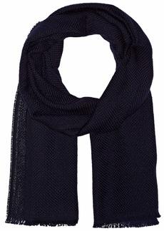 BOSS Hugo Boss Men's Canno Knitted Wool Scarf