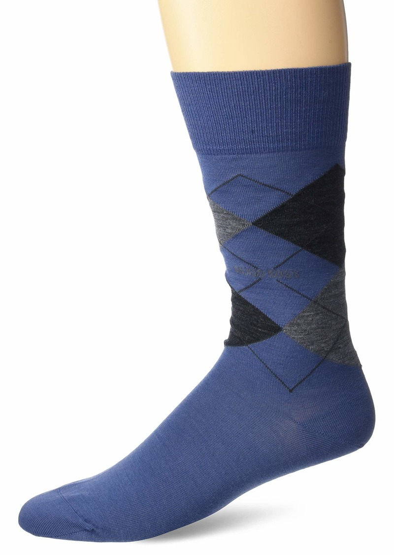 BOSS HUGO BOSS Men's James Argyle Crew Sock