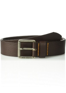 Boss Hugo Boss Men's Joby Leather Belt dark brown  US - 80 EU