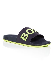 BOSS Hugo Boss Men's Logo Slide Sandals