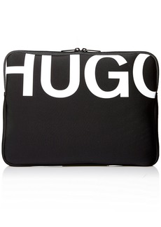 BOSS Hugo Boss Men's Monochrome Neoprene Laptop Case