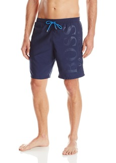 Hugo Boss BOSS Men's Orca Solid Swim Trunk Navy Small