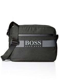 BOSS Hugo Boss Men's Pixel Nylon Messenger Bag