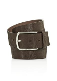 BOSS Hugo Boss Men's Sander Pebbled Leather Belt