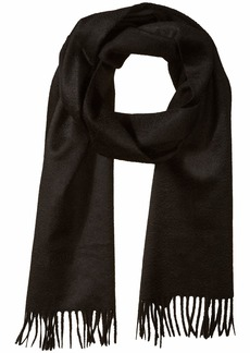 BOSS Hugo Boss Men's T-Scottas Knitted Wool Scarf black One size