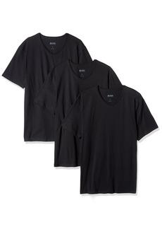 BOSS HUGO BOSS Men's Cotton 3 Pack V-Neck T-Shirt