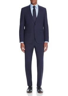 BOSS HUGO BOSS Micro Box Check Classic Fit Suit