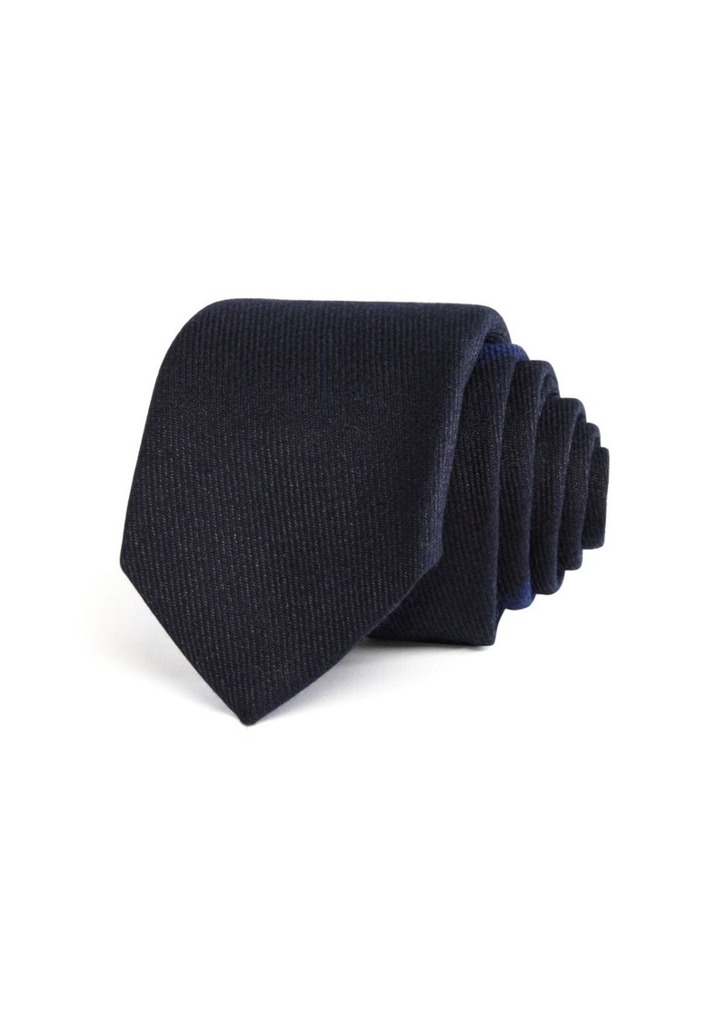 BOSS HUGO BOSS M�lange Solid Panel Skinny Tie