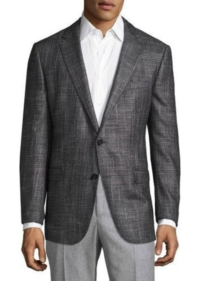 hugo boss boss nobis oversized melange slim fit sport coat. Black Bedroom Furniture Sets. Home Design Ideas