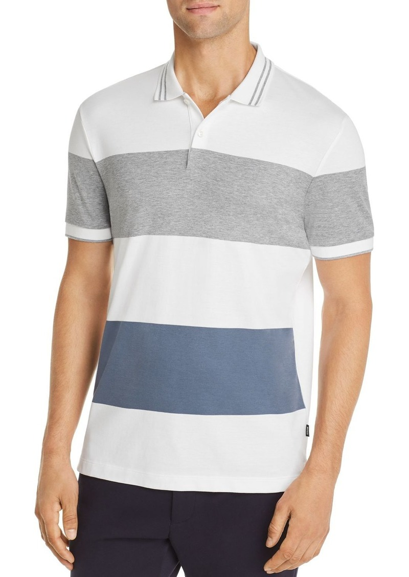 Hugo Boss BOSS Parlay Block Stripe Polo