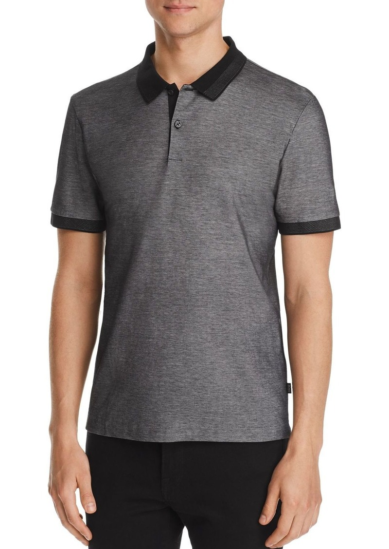 Hugo Boss BOSS Phillipson Color-Block Slim Fit Piqu� Polo Shirt