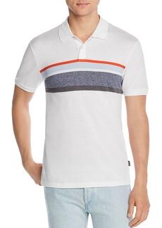 Hugo Boss BOSS Phillipson Stripe-Front Slim Fit Polo Shirt