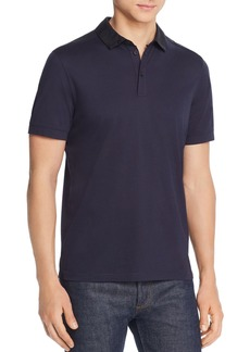 Hugo Boss BOSS Pickout Play Color-Block Regular Fit Polo Shirt