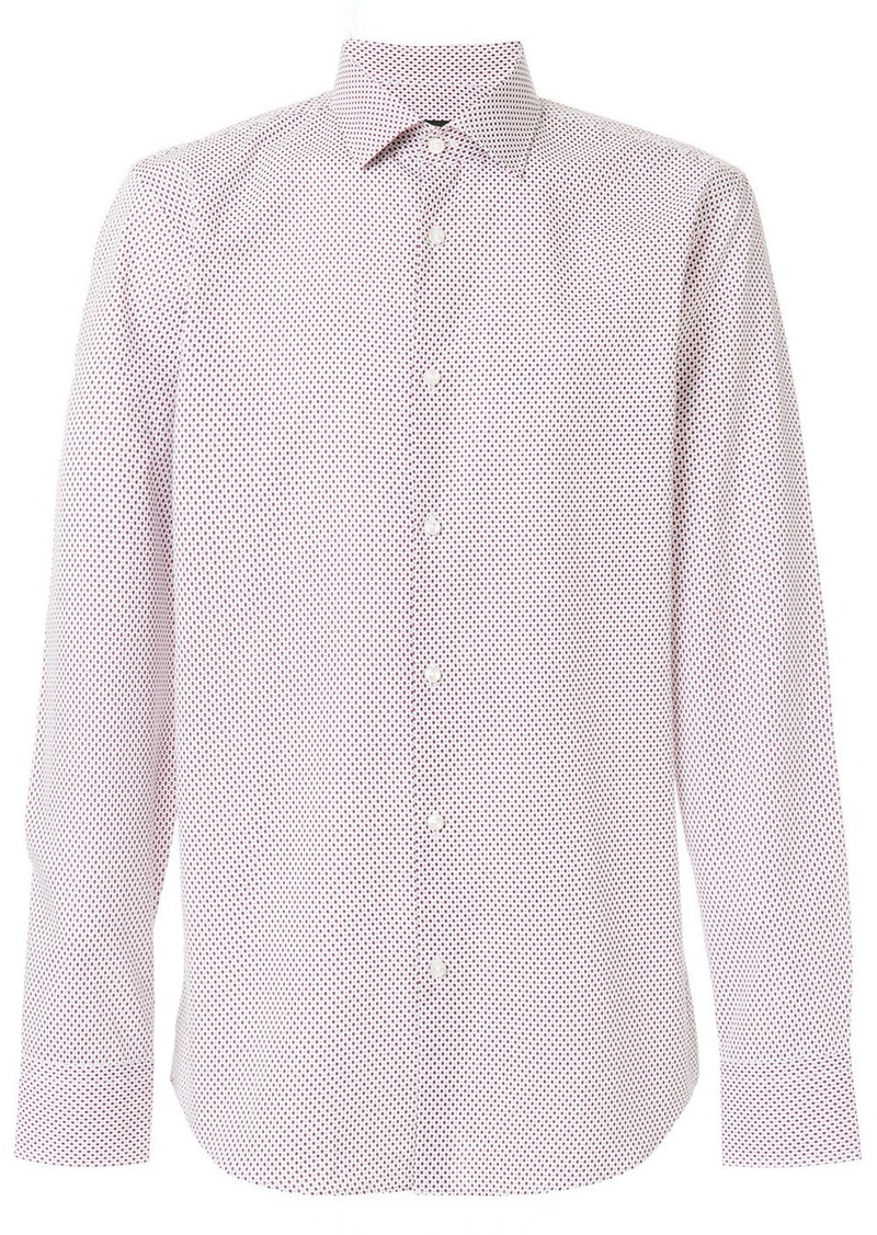 76159e30 Hugo Boss Boss Hugo Boss printed shirt - Pink & Purple | Casual Shirts