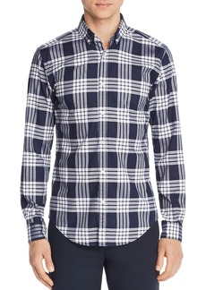 Hugo Boss BOSS Rikard Classic Check-Print Regular Fit Button-Down Shirt