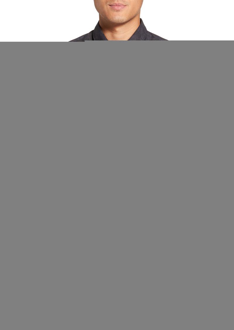 c847f2faa25 Hugo Boss BOSS Hugo Boss Ronni Print Trim Fit Sport Shirt | Casual ...