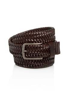 BOSS Hugo Boss Sawen Woven Leather Belt