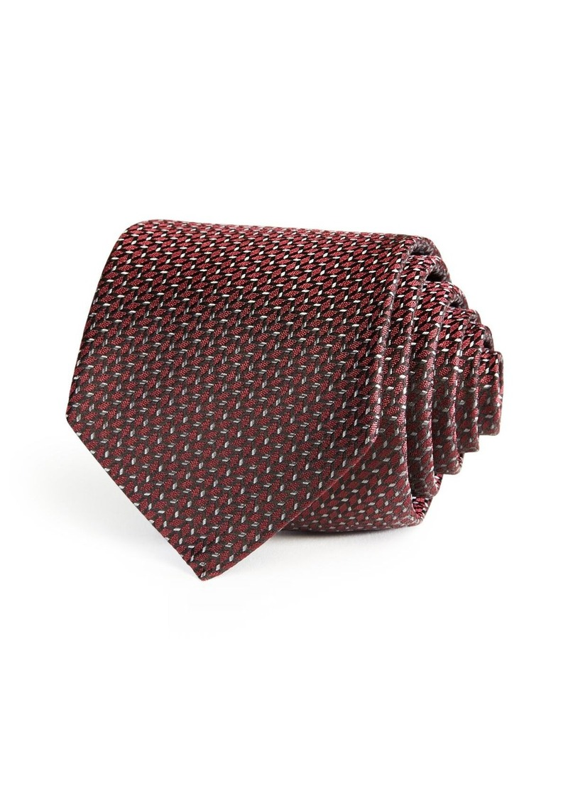 BOSS HUGO BOSS Scattered Chevron Neat Classic Tie
