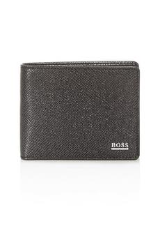 BOSS Hugo Boss Signature Leather Bi-Fold Wallet