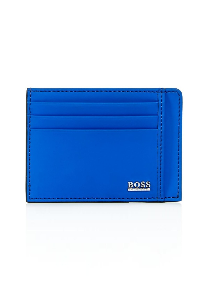 BOSS Hugo Boss Signature Sport Leather Card Case