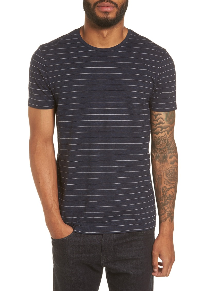 Hugo boss boss tessler stripe slim fit t shirt shop it to me for Boss t shirt sale