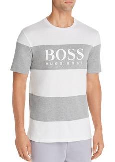Hugo Boss BOSS Tiburt Striped Logo Tee