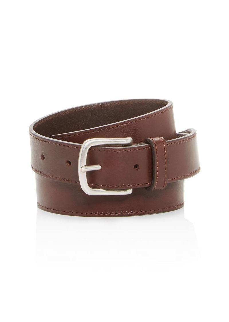BOSS Hugo Boss Tonal Stitch Leather Belt