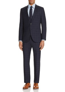 BOSS Hugo Boss Tonal Window Plaid Regular Fit Suit