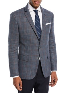Hugo Boss Hutson Windowpane Wool-Blend Sport Coat