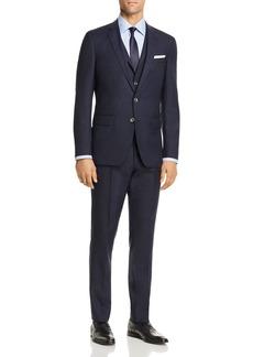 Hugo Boss BOSS Hutson/Gander Graphic Solid 3-Piece Slim Fit Suit