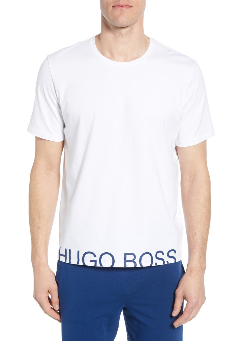Hugo Boss BOSS Identity Stretch Cotton Crewneck T-Shirt
