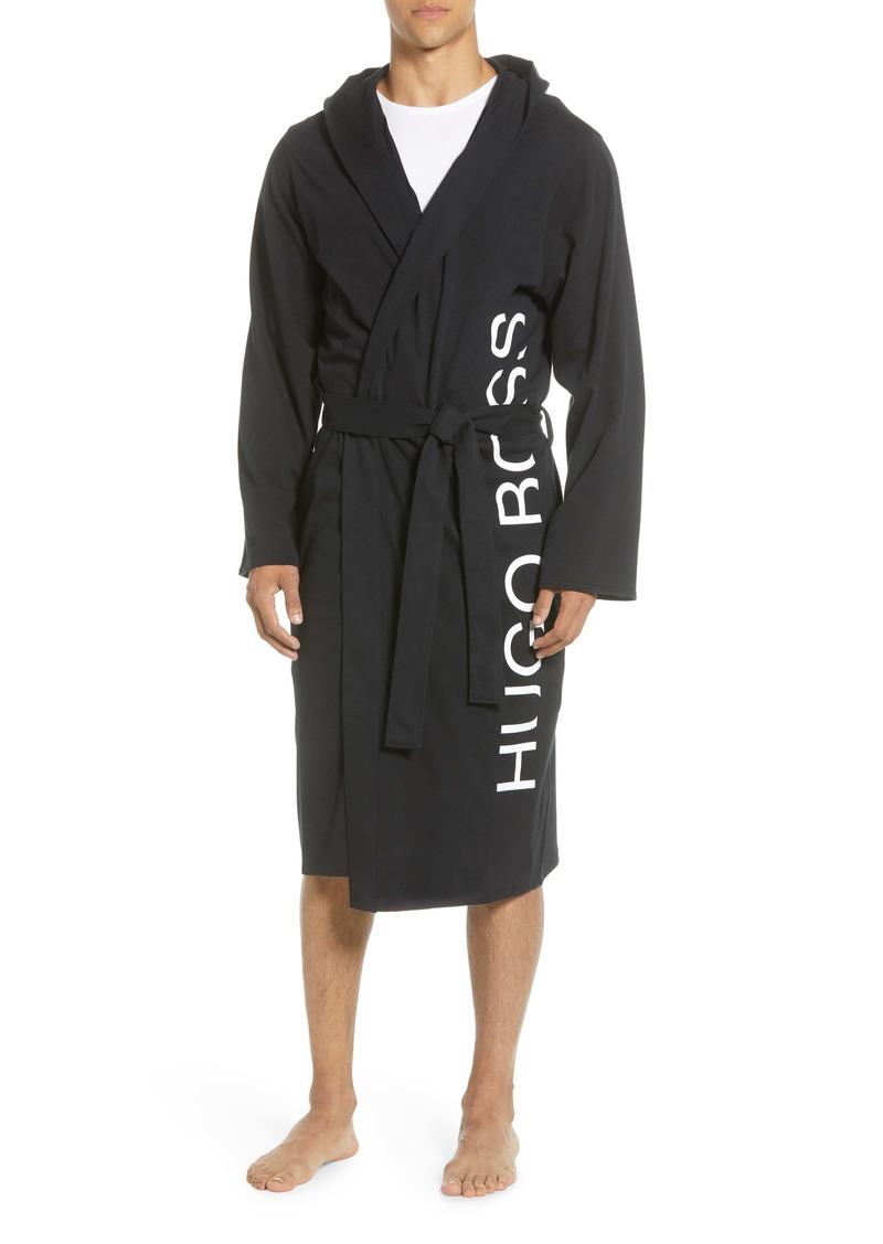 Hugo Boss BOSS Identity Stretch Cotton Hooded Robe