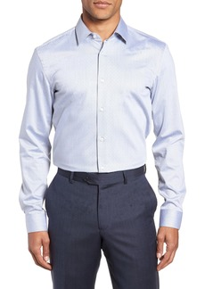 Hugo Boss BOSS Isko Slim Fit Dot Dress Shirt