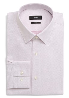 Hugo Boss BOSS Isko Slim Fit Geometric Dress Shirt