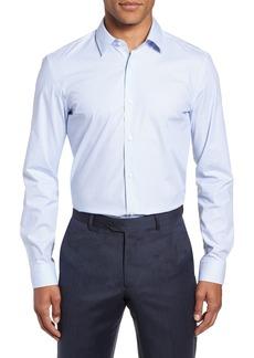 Hugo Boss BOSS Isko Slim Fit Stretch Check Dress Shirt