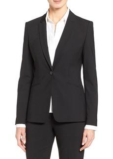 Hugo Boss BOSS Jabina Tropical Stretch Wool Jacket