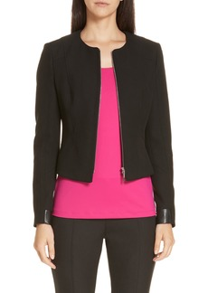 Hugo Boss BOSS Jaleta Soft Twill Jacket (Regular & Petite)