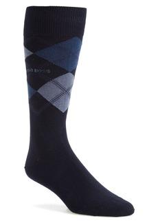 Hugo Boss BOSS 'James' Argyle Socks