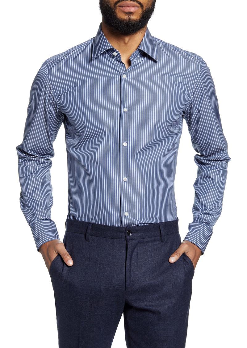 Hugo Boss BOSS Jango Slim Fit Stripe Dress Shirt