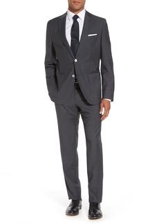 Hugo Boss BOSS Janon/Lenon Trim Fit Solid Wool Suit