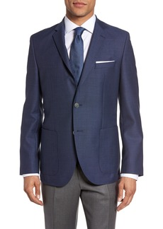 Hugo Boss BOSS Janson Trim Fit Textured Wool Sport Coat