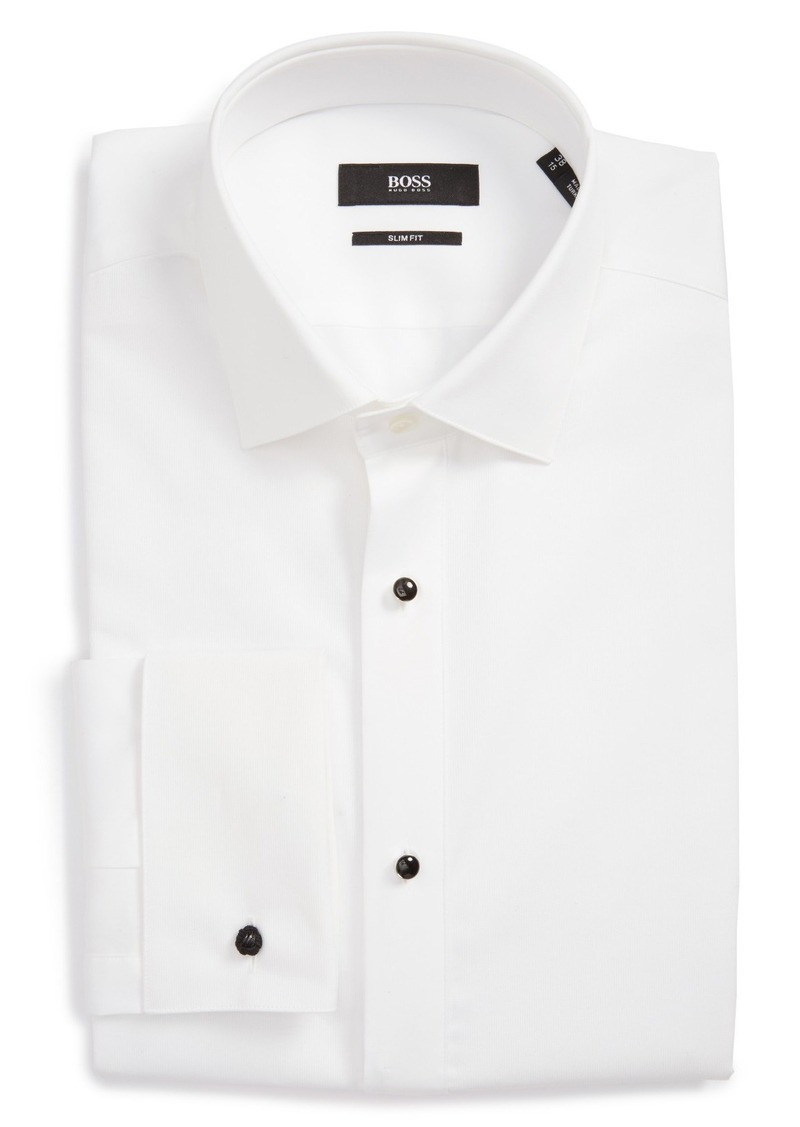 Hugo Boss Boss Jant Slim Fit Tuxedo Shirt Dress Shirts