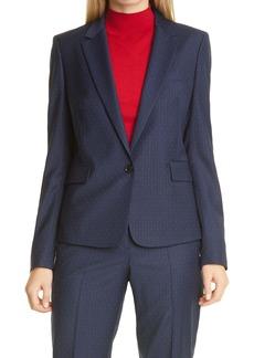 Hugo Boss BOSS Janufa Pinstripe Suit Jacket
