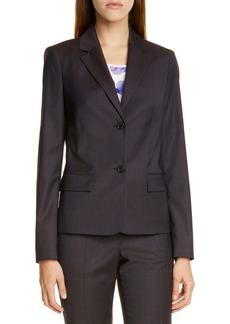 Hugo Boss BOSS Jarana Rich Plaid Wool Suit Jacket (Regular & Petite)